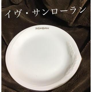 イヴサンローランボーテ(Yves Saint Laurent Beaute)のイヴ・サンローラン イヴサンローラン 皿 小皿 YSL デザート皿 平皿 白(食器)