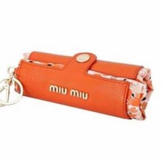 ミュウミュウ(miumiu)の期間限定出品 ミュウミュウ エコバッグ 折り畳み(トートバッグ)