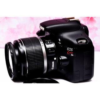 キヤノン(Canon)のおすすめ一眼レフ❤️Canon kiss X4❤️フルHD動画❤️極美品❤️(デジタル一眼)