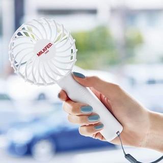 ミルクフェド(MILKFED.)のSPRiNG スプリング 2019年 7月 付録 MILKFED. ミニ扇風機(アート/エンタメ/ホビー)