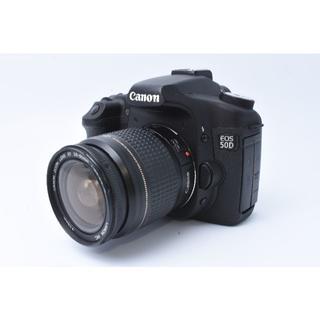 キヤノン(Canon)の★美品★ Canon EOS 50D 標準レンズセット(デジタル一眼)