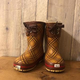 ハンター(HUNTER)の新品タグ付き レインブーツ 16㎝ 長靴 ハンター ビスゴ(長靴/レインシューズ)