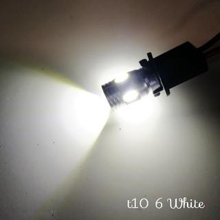 【ホワイト】T10 T13 T16 プロジェクター  6連