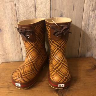 ハンター(HUNTER)の新品タグ付き レインブーツ 18㎝ 長靴 ハンター ビスゴ(長靴/レインシューズ)