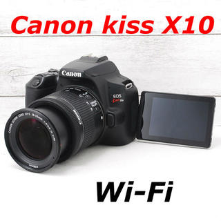 キヤノン(Canon)の❤️Wi-Fi機能搭載&自撮り❤️Canon kiss X10(デジタル一眼)