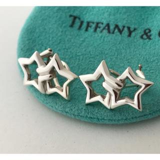 Tiffany & Co. - Tiffany ダブルスターイヤリング 希少美品