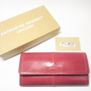 KATHARINE HAMNETT - 【新品未使用】キャサリンハムネット 長財布