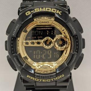 G-SHOCK - G-SHOCK GD-100GB-1JF ブラック&ゴールド