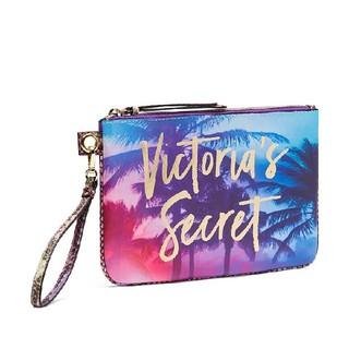 ヴィクトリアズシークレット(Victoria's Secret)のヴィクトリアシークレット パイソンパイビング クラッチバッグ 新品 Blue (クラッチバッグ)