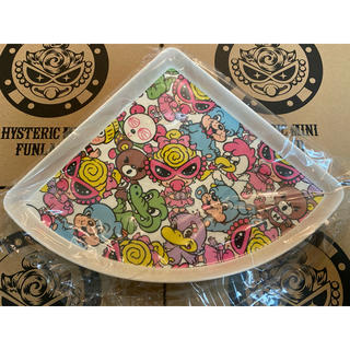ヒステリックミニ(HYSTERIC MINI)のヒスミニノベルティ メラミンピザプレートI柄(プレート/茶碗)