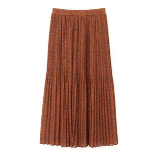 エヌナチュラルビューティーベーシック(N.Natural beauty basic)のフラワープリーツスカート(ロングスカート)
