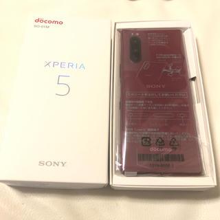 Xperia - 新品 docomo ドコモ Xperia5 SO-01M レッド