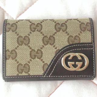 Gucci - 美品 GUCCI  名刺入れ カードケース