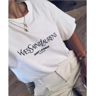 Saint Laurent - YSL/ロゴTシャツ