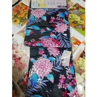 新品、浴衣、変わり織、キラキラ草花、トールサイズ(浴衣)