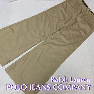 ポロラルフローレン(POLO RALPH LAUREN)のPOLO JEANS COMPANY ワイドパンツ サイズ 28 美品(カジュアルパンツ)