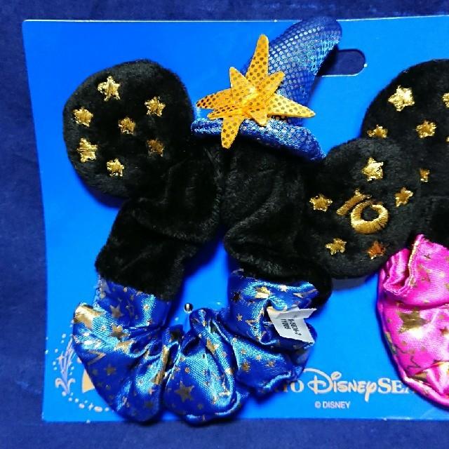 Disney(ディズニー)のディズニーシー 10周年 記念 Be magical ミッキー ミニー シュシュ エンタメ/ホビーのおもちゃ/ぬいぐるみ(キャラクターグッズ)の商品写真