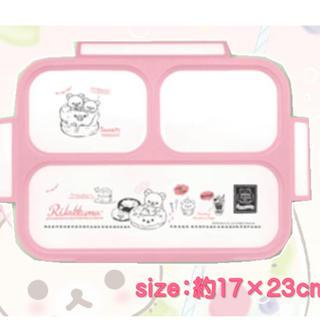 サンエックス - リラックマ 薄型 ランチボックス (ピンク)