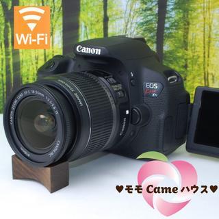 キヤノン(Canon)のキャノン kiss X7i☆スマホ転送OK!液晶画面自由自在☆876(デジタル一眼)