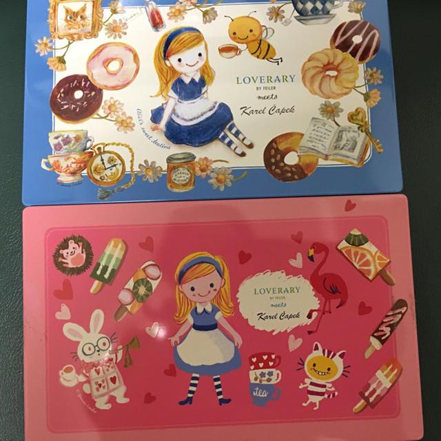 FEILER(フェイラー)のカレルチャペック紅茶店とのコラボ 空きケース2種類 レディースのファッション小物(その他)の商品写真