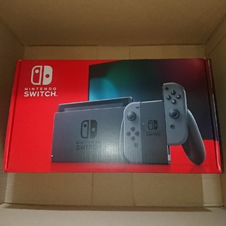 Nintendo Switch - Nintendo Switch ニンテンドースイッチ 本体 新型 グレー