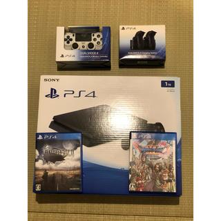 PlayStation4 - SONY PlayStation4 本体 CUH-2000BB01 +5点セット