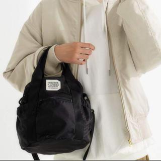 green label relaxing - フレドリックパッカーズ fredrik packers巾着2wayバッグ