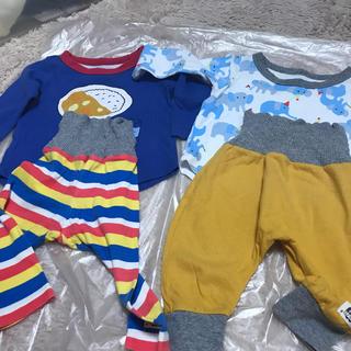 アカチャンホンポ(アカチャンホンポ)のパジャマ 80 2セット(パジャマ)
