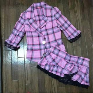 アンディ(Andy)の未使用 セットアップ コスプレ ピンク 安室奈美恵 AKB  スーツ セット(スーツ)