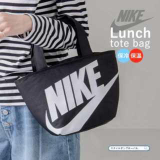 NIKE - 新品トート バッグ 黒×白NIKEナイキ保冷保温ランチバッグ