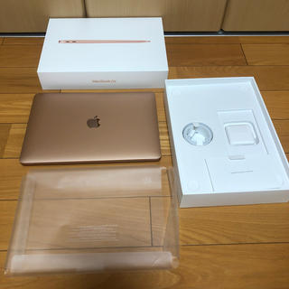 Mac (Apple) - 最新 MacBook Air2020 ゴールド