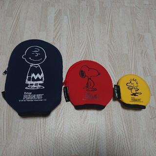 SNOOPY - スヌーピー ポーチ3点セット