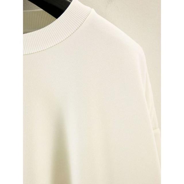 YOKE ホワイトM 20ss OVERSIZED PIPING SWEAT  メンズのトップス(スウェット)の商品写真