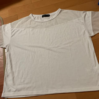アンビー(ENVYM)のENVYM トップス シースルー(Tシャツ(半袖/袖なし))