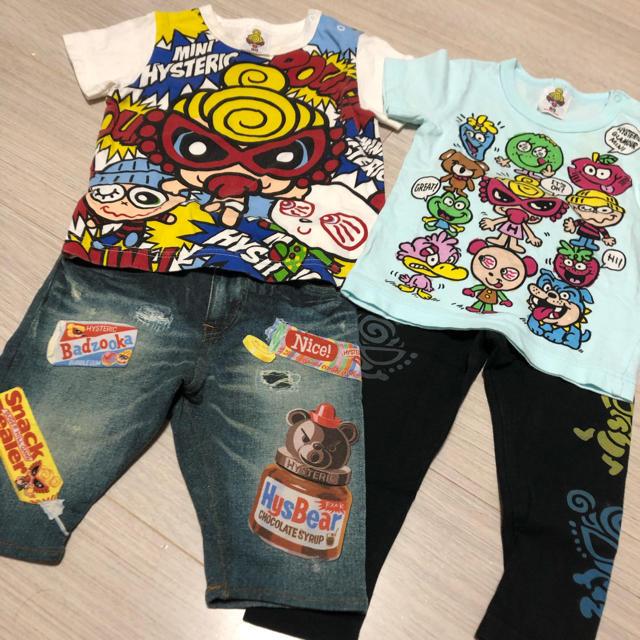 HYSTERIC MINI(ヒステリックミニ)のヒスミニ セット キッズ/ベビー/マタニティのキッズ服男の子用(90cm~)(Tシャツ/カットソー)の商品写真
