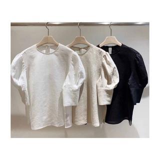 dholic - 韓国fashion*【3color】パフスリーブ ブラウス 125