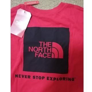 ザノースフェイス(THE NORTH FACE)の【新品タグ付】ロンT sizeL海外正規品BOXロゴTHE NORTH FACE(Tシャツ/カットソー(七分/長袖))