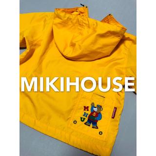 mikihouse - ミキハウス ウインドブレーカー ナイロンジャケット レトロ 美品  110