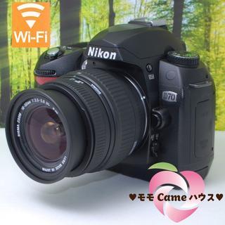 Nikon - ニコン D70☆初めての本格的な一眼レフに★961