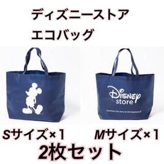 Disney - ラクマ最安!ディズニーストア 【エコバッグ  S、Mサイズ 2枚セット】