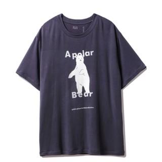 ジェラートピケ(gelato pique)の【シロクマフェア】HOMMEワンポイント冷感Tシャツ(Tシャツ/カットソー(半袖/袖なし))