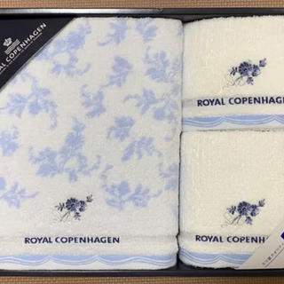 ROYAL COPENHAGEN - 【新品】ロイヤルコペンハーゲン バスタオルセット