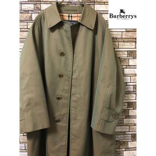 バーバリー(BURBERRY)のステンカラー ロングコート メンズ Burberry(トレンチコート)