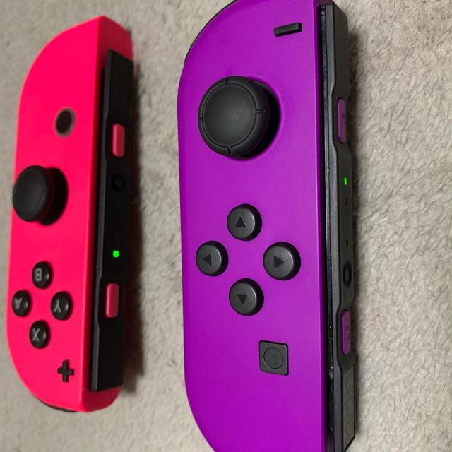Nintendo Switch(ニンテンドースイッチ)の中古 Switch Joy-Con L パープル R ピンク エンタメ/ホビーのゲームソフト/ゲーム機本体(その他)の商品写真