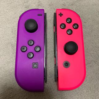 Nintendo Switch - 中古 Switch Joy-Con L パープル R ピンク