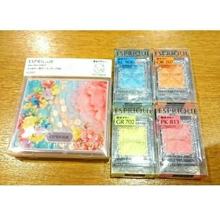 ESPRIQUE - 新品 エスプリーク 蜷川実花デザインケース&セレクトアイカラーN ★4色セット