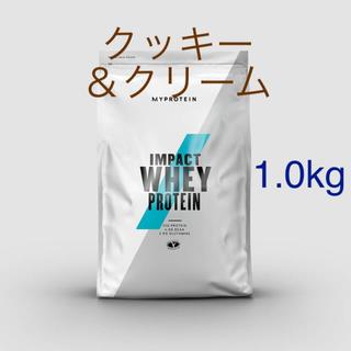 マイプロテイン(MYPROTEIN)のimpact ホエイプロテイン クッキー&クリーム 1.0kg(プロテイン)