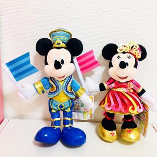 Disney - ミッキー ミニー 35周年 ポージープラッシー