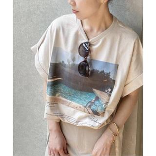 Plage - plage 【JANE SMITH/ジェーンスミス】 SP PHOTO Tシャツ