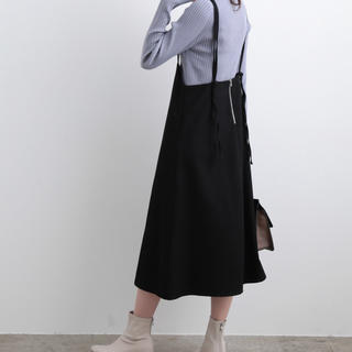 ViS - ViS♡バックファスナーサロペット スカート♡